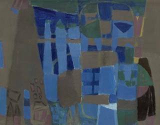 CG MOW Jo van Dijk Compositie 1976 Collectie de Ploeg 63x49 gouache ©HB @7360 8bit 300dpi