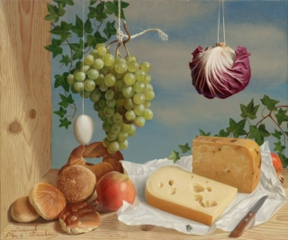 CG MOW Lodewijk Bruckman A palette for taste and colour 1984 60x50 olieverf ©HB @7360 8bit 300dpi